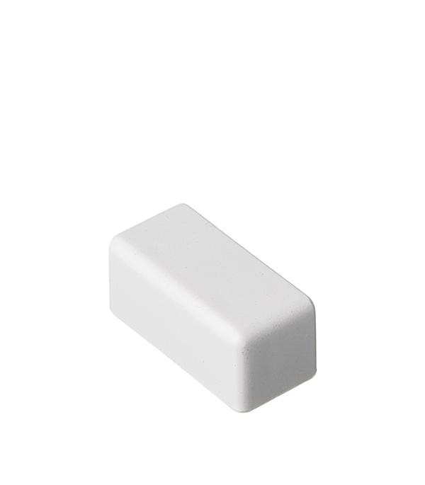 Заглушка для кабель-канала ДКС 22х10 мм торцевая белая кабель