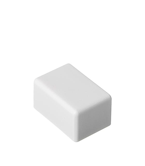 Заглушка для кабель-канала ДКС 25х17 мм торцевая белая заглушка legrand для кабель канала 40х12 5 белый 31204