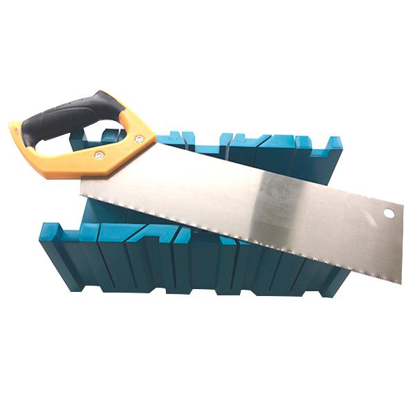 Стусло пластиковое с ножовкой 350х120х110 мм стусло пластиковое 300x110x60 мм с линейкой