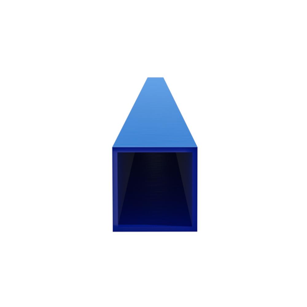 Столб для забора 60х60х2 мм 3 м синий RAL 5005 фото