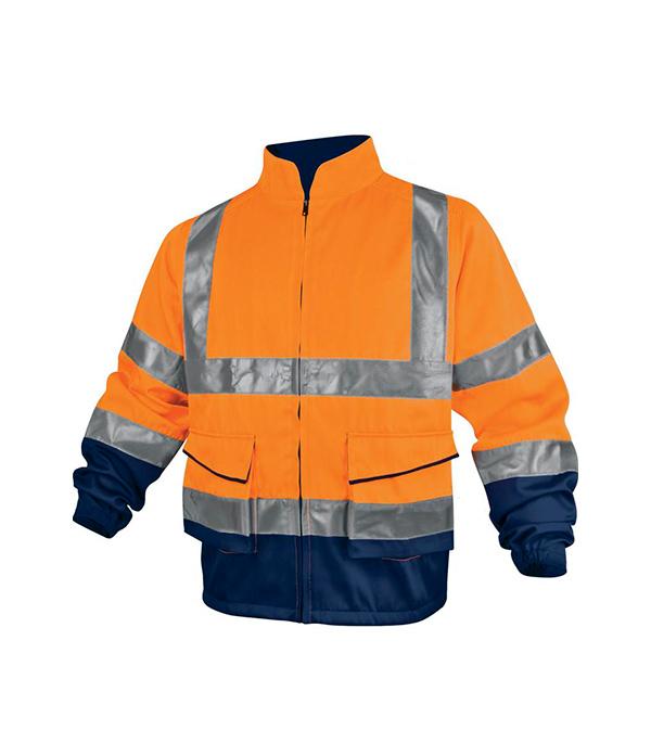 Куртка Delta Plus рабочая сигнальная размер XL флуоресцентный оранжевый цвет куртка proffi sport ph8784borange xl черно оранжевый 50 размер