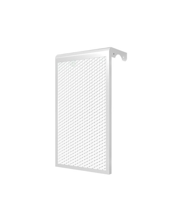 Декоративный металлический экран на радиатор 4-х секционный