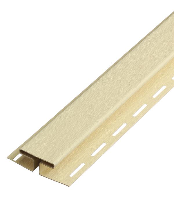 Н-профиль соединительный Vinyl-On 3050 мм кремовый профиль д панелей пвх соединительный 3м белый