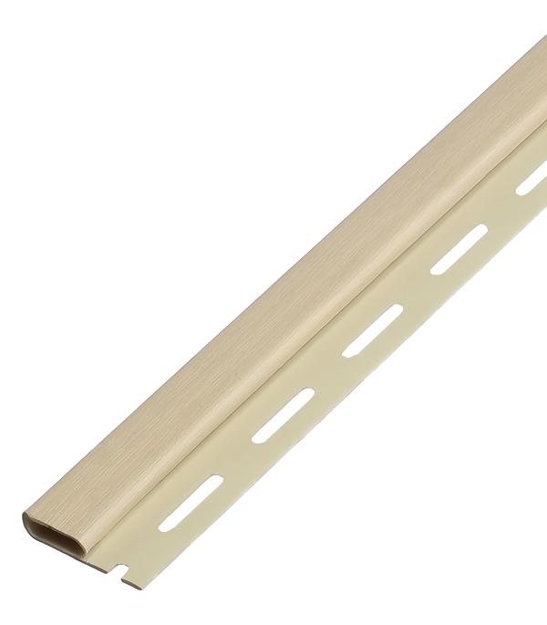 Планка финишная Vinyl-On 3660 мм ваниль сайдинг vinyl on планка финишная 3660 мм белая
