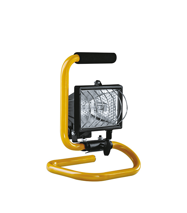 Прожектор галогенный 500 Вт переносной черный прожектор переносной inspire 150 вт ip44