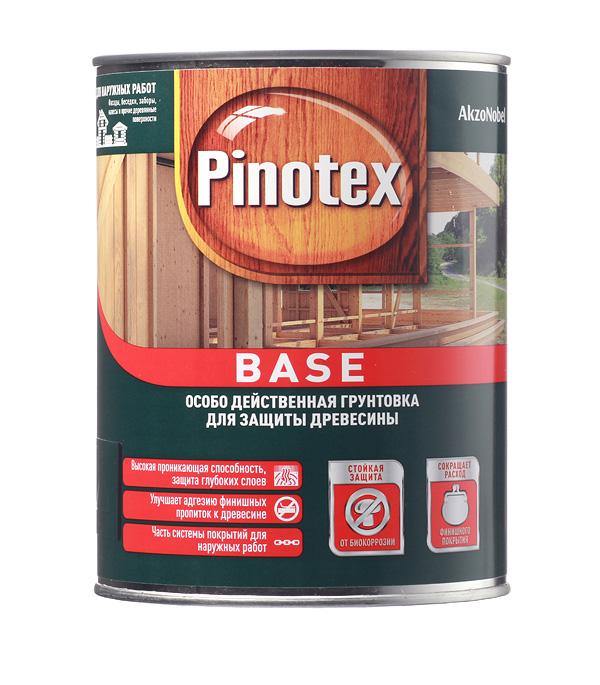 Деревозащитная грунтовка Pinotex Base 1 л