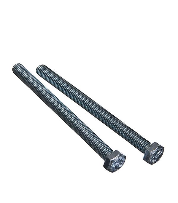 Болты оцинкованные М8х100 мм DIN 933 (2 шт) болты оцинкованные м18х70 мм din 933 8 шт