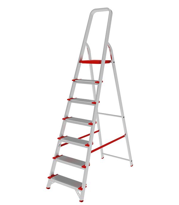 Стремянка Новая высота алюминиевая усиленная 7 ступеней