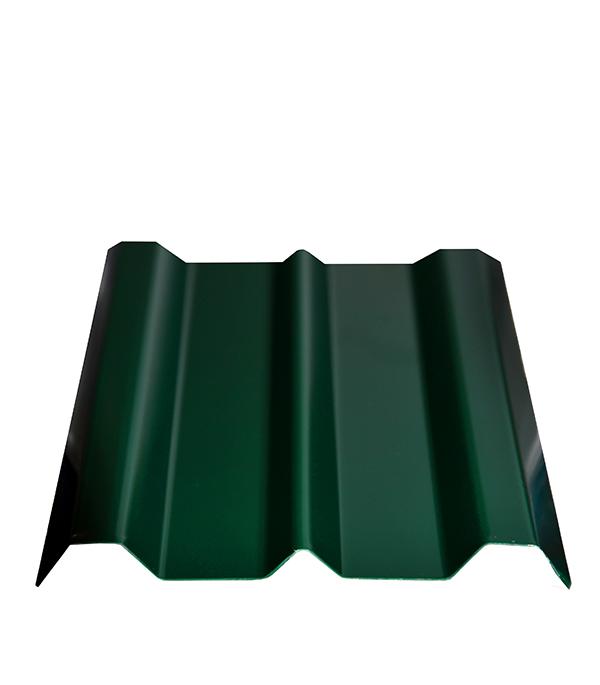 Купить Евроштакетник толщина 0, 4 мм 100х1500 мм зеленый, Зеленый, Сталь