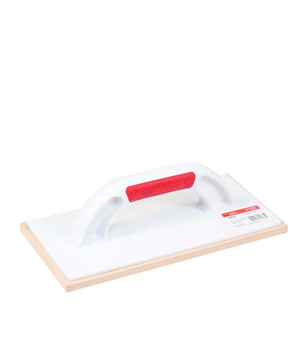 Купить Терка пластиковая 280х140 мм с резиновой губкой для затирки швов Corte