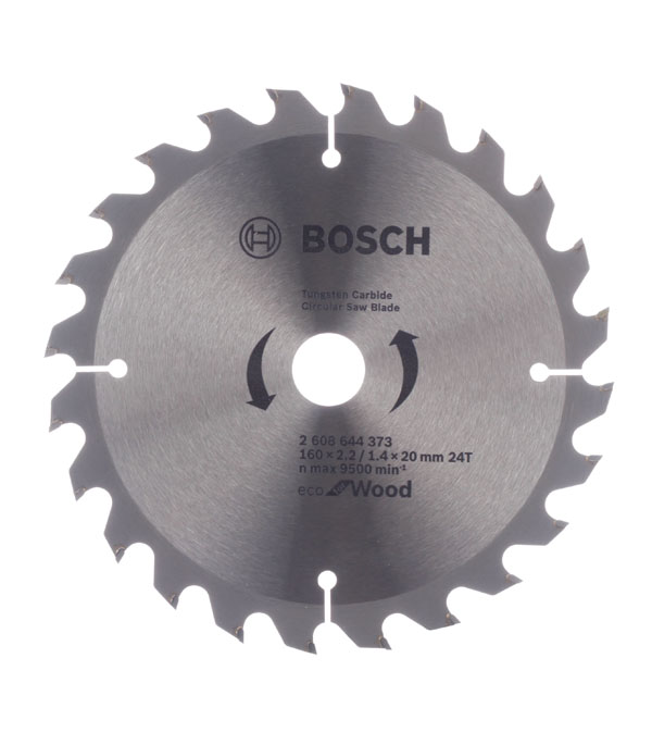 Диск пильный по дереву Bosch Spedline ECO (2608644373) 160х16/20х2,2 мм 24 зуба
