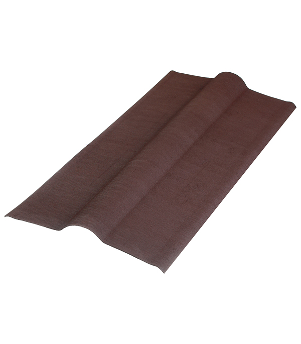 Конек Ондулин коричневый 1 м