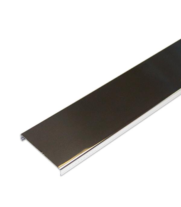 Рейка открытого типа Албес AN 85A 3 м суперхром-люкс раскладка для an 85 135а 4м суперхром