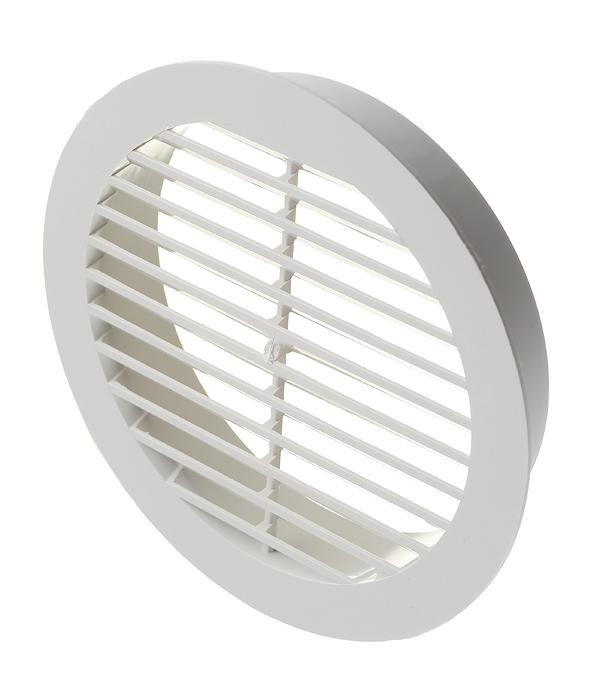 все цены на Вентиляционная решетка наружная круглая пластиковая d150 мм c фланцем d125 мм онлайн