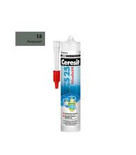 Герметик  силиконовый (затирка) Церезит СS 25 №13 антрацит  280 мл
