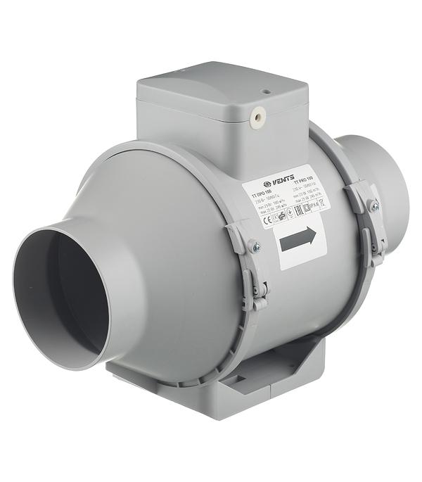 Вентилятор канальный центробежный d100 мм Вентс ТТ Про белый канальный вентилятор cata cb 100 plus d100 мм белый