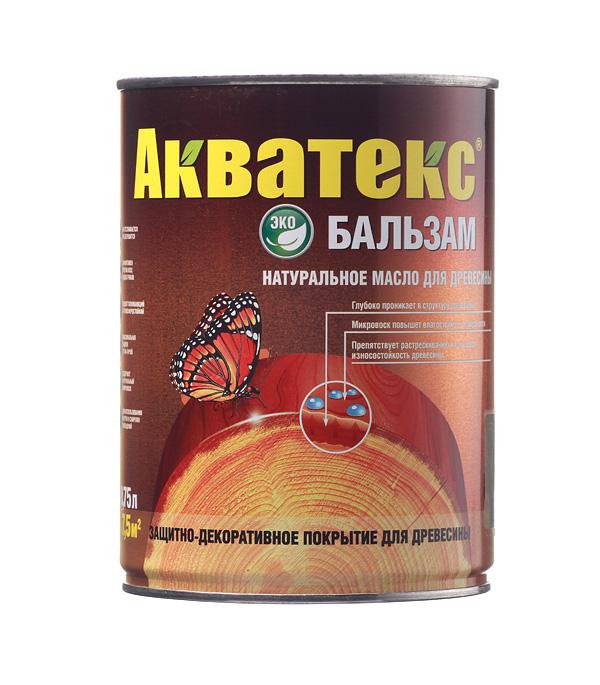 Масло для дерева Акватекс Бальзам патина 0.75 л