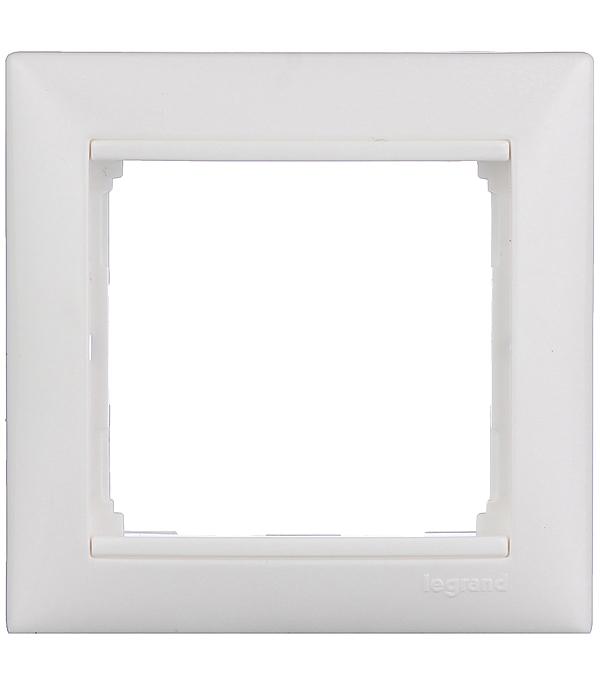 Купить Рамка одноместная Legrand Valena белая, Белый