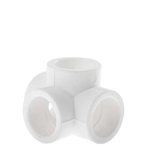 Крестовина полипропиленовая двухплоскостная Valtec 25 мм крестовина двухплоскостная sk plast левая 90 градусов 110х110х50