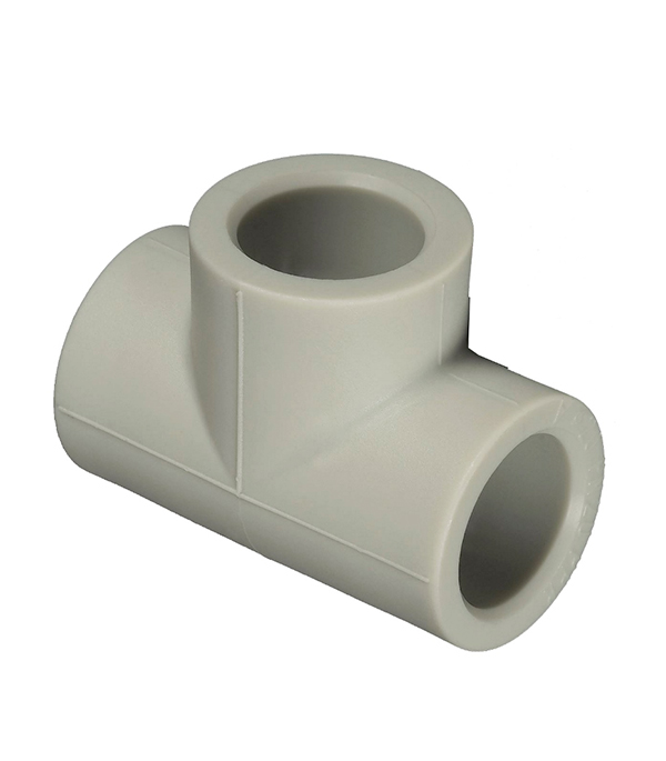 Купить Тройник полипропиленовый 25 мм FV-PLAST серый