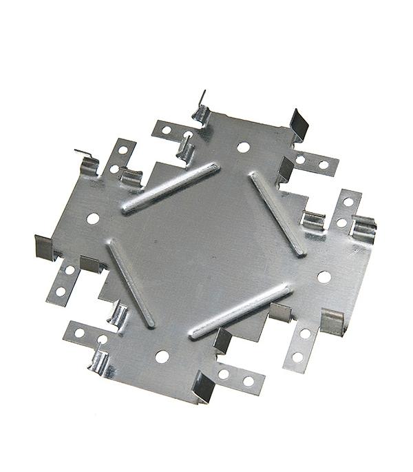 Соединитель одноуровневый краб Стандарт 60х27 0.9 мм подвес прямой 60х27 стандарт 0 9 мм