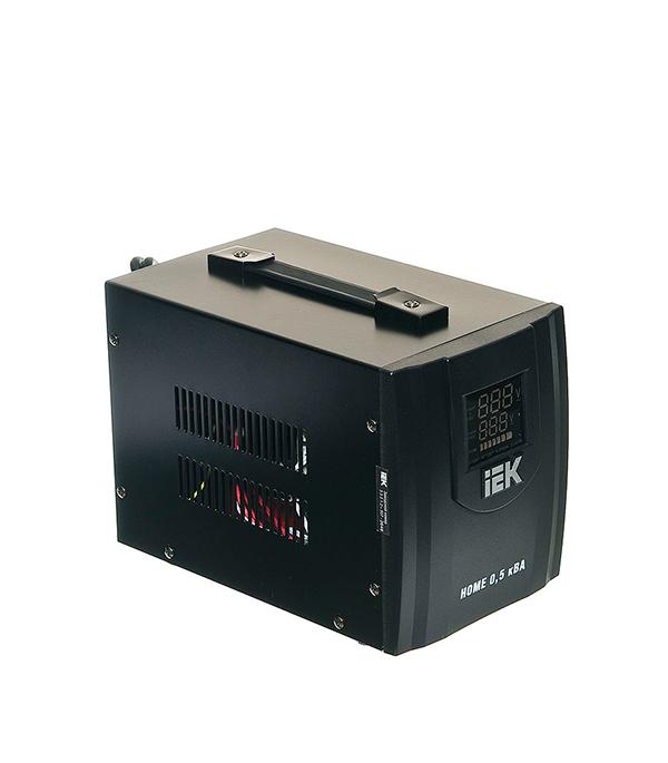 Стабилизатор напряжения IEK СНР1-0-0.5 кВА электронный переносной