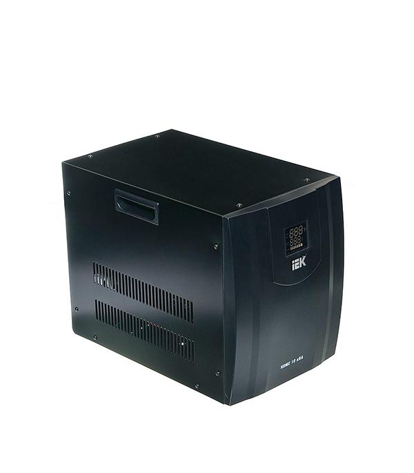 Стабилизатор напряжения IEK СНР1-0-10 кВА электронный переносной стабилизатор напряжения iek снр1 0 2 ква