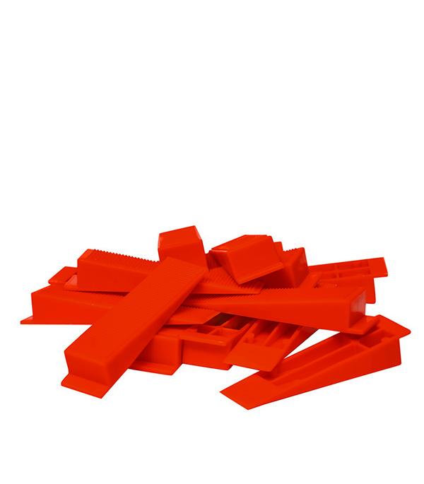 Купить Система выравнивания плитки Beorol клин (100 шт), Белый
