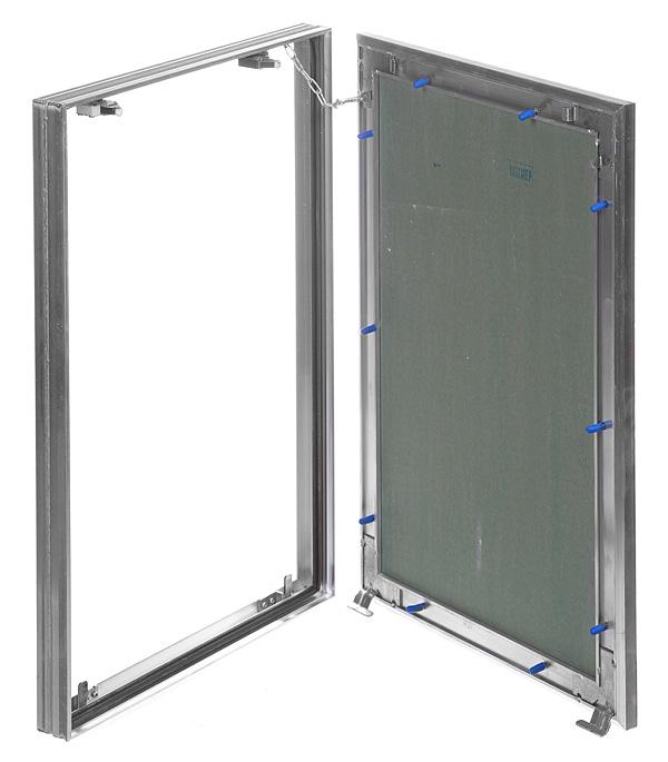Люк ревизионный 400х600 мм под плитку алюминиевый Гиппократ-П Хаммер люк хаммер гиппократ 200х200