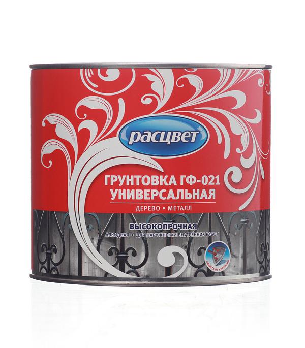 Грунт ГФ-021 белый Расцвет Empils 2,2 кг грунт гф 021 красно коричневый расцвет empils 12 кг