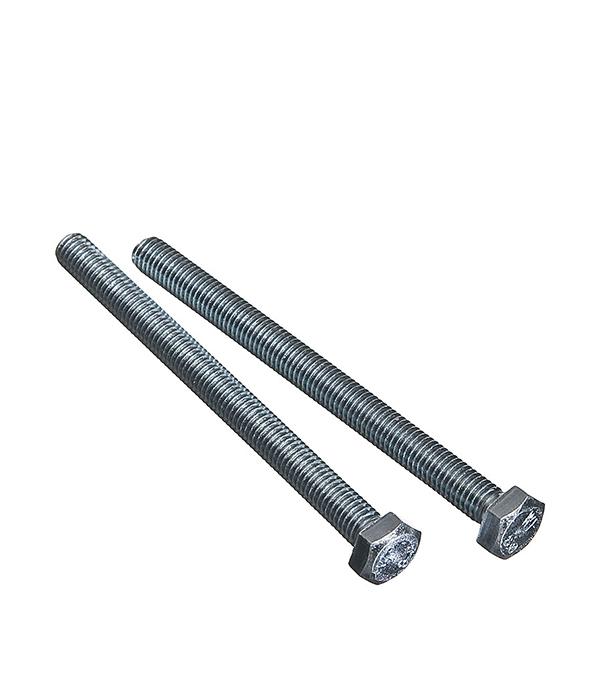 Болты оцинкованные М8х100 мм DIN 933 (20 шт) болты оцинкованные м6х16 мм din 933 100 шт