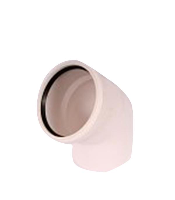 Отвод внутренний шумопоглащающий 110 мм, 45° Rehau Raupiano Plus труба rehau raupiano plus 110 2000 мм