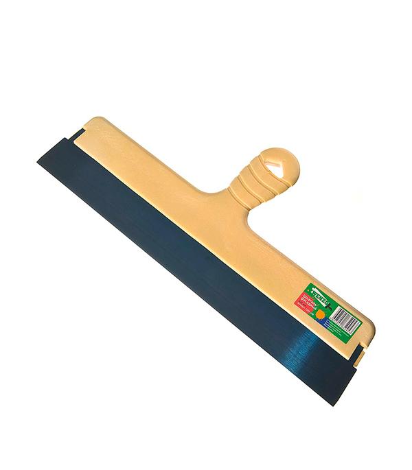 Шпатель фасадный Wenzo 450 мм с оксидированным полотном шпатель kraftool фасадный с двухкомпонентной ручкой нержавеющее полотно 400мм 10036 400
