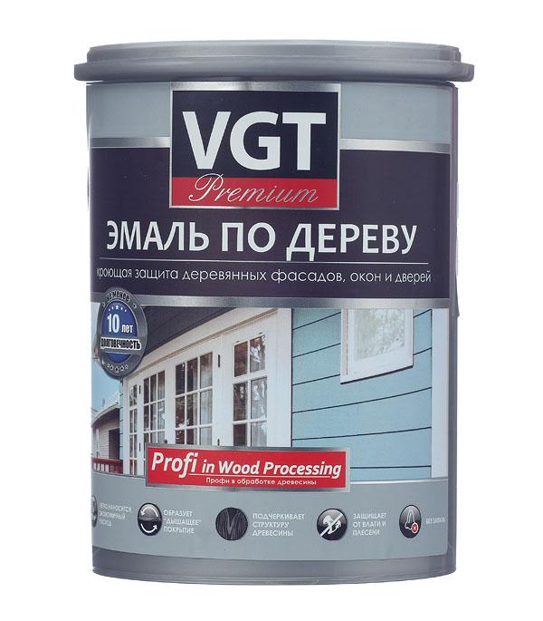 Эмаль акриловая по дереву Профи дымчато-голубая VGT 1 кг эмаль акриловая матовая синяя vgt 1 кг