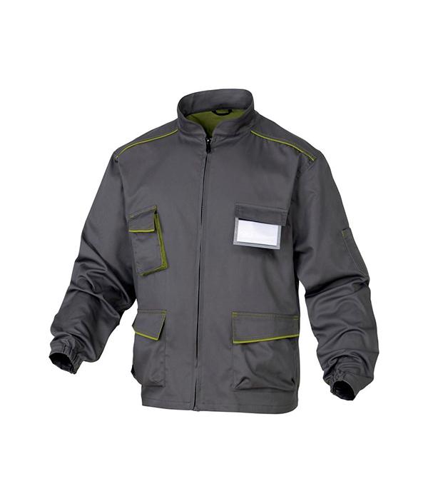 Куртка рабочая Delta Plus Panostyle 52-54 рост 172-180 см цвет серый/зеленый раствор sauflon delta plus 110ml