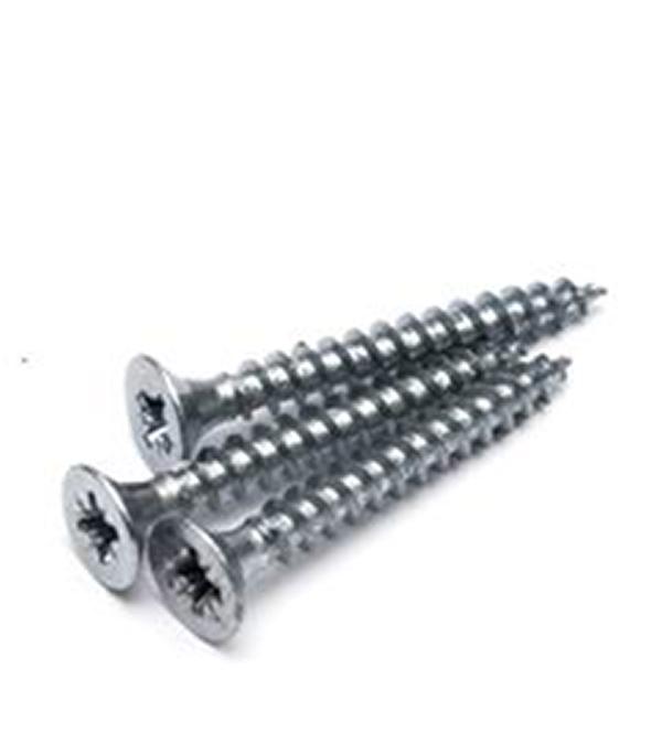 Саморезы универсальные 80х5.0 мм оцинкованные (100 шт) цена