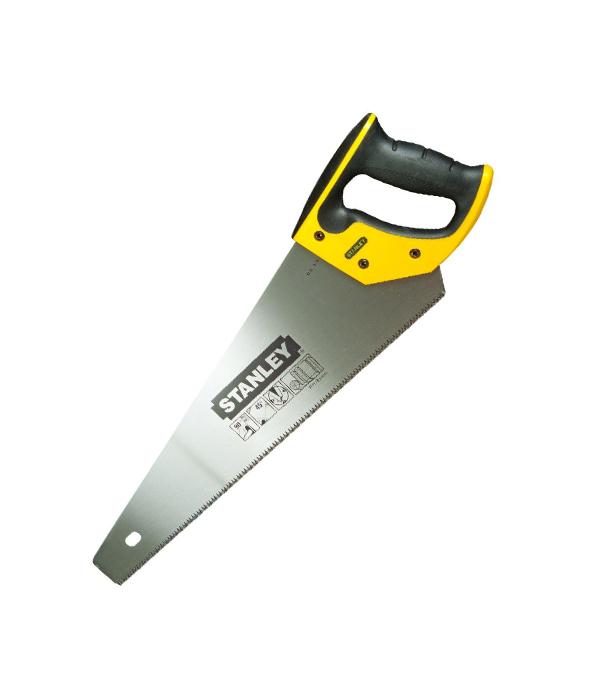 Ножовка по дереву Stanley 450 мм крупный зуб ножовка по дереву santool 450 мм зуб 2 мм 030105 001 450