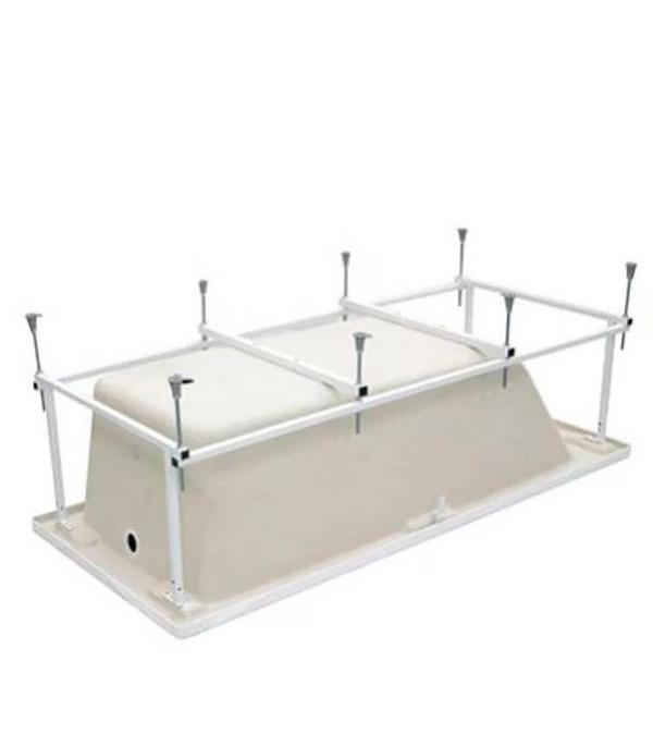 Монтажный набор ROCA ZRU9302986 для ванны акриловой Line 160х70см рама слив-перелив ручки крепления крышка riho claudia на слив перелив для ванны серебристая 160499115