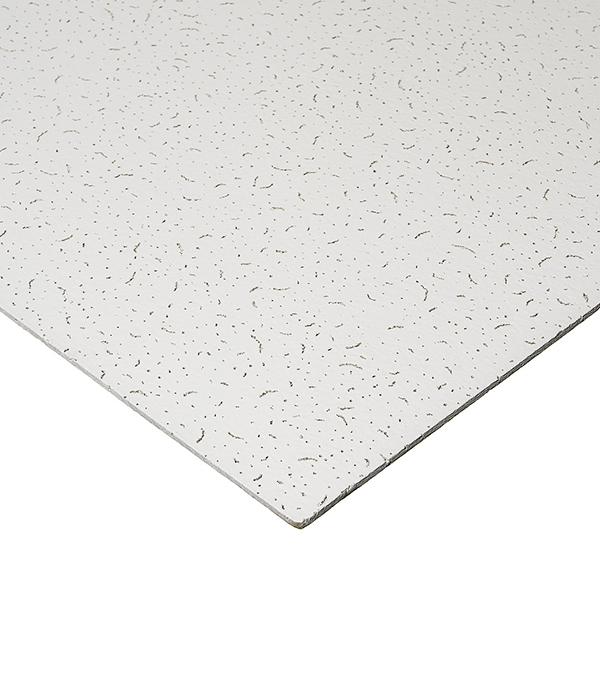 Купить Плита к подвесному потолку Board Жемчужина кромка 600х600х6 мм, Минеральное волокно