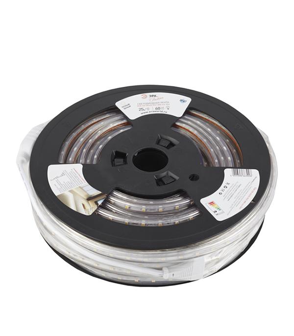 Лента светодиодная 4.8 Вт IP67 220В влагозащищенная теплый свет 1м