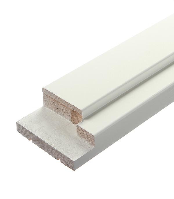 Коробка дверная VellDoris эмаль белый 42х92х2090 мм (М10х21) (3 шт.) коробка дверная velldoris trend экошпон венге 38х80х2042 мм 659х2042 мм 2 5 шт