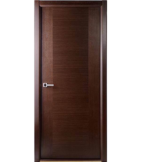 Дверное полотно шпонированное Белвуддорс Классика люкс венге 700x2000 мм глухое без притвора вставка fap roma statuario ae matita 2x2