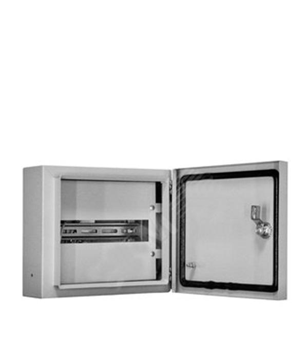 Щиток навесной для 6/9 модулей и под вводной автомат, металлический, IP31, ОЩВ щиток навесной iek щрн для 12 модулей металлический ip31