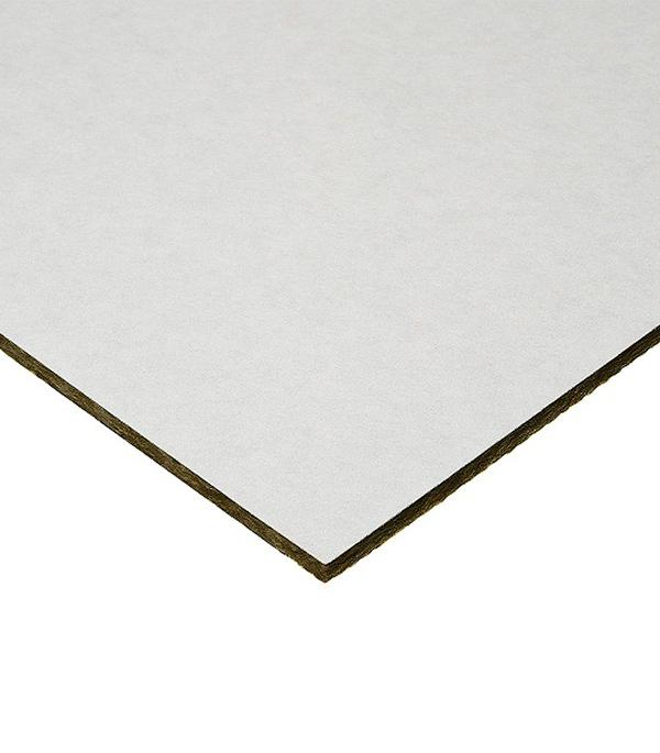 Купить Плита к подвесному потолку РОКВУЛ Lilia кромка A-24 1200x600x15 мм (14 шт), Каменная вата