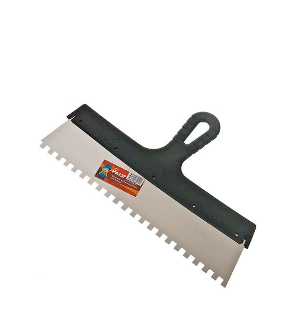 Зубчатый шпатель 350х8 мм цена