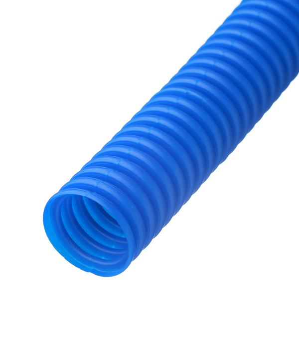 цены на Труба гофрированная 32 мм для металлопластиковых труб d20 мм синяя бухта 50 м в интернет-магазинах