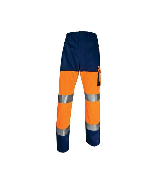 Брюки Delta Plus рабочие сигнальные размер XXL флуоресцентный оранжевый цвет kaweida синий xxl
