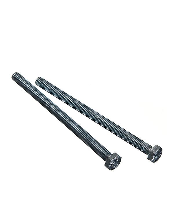 Болты оцинкованные М8х120 мм DIN 933 (2 шт) болты сантехнические оцинкованные 6х70 мм din 571 40 шт