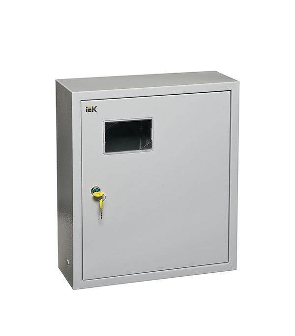 Щиток навесной IEK ЩУРн для 15 модулей и под 1ф счетчик металлический IP31 iek mkm14 n 18 31 z корпус металлический щрн 18з 1 36 ухл3 ip31
