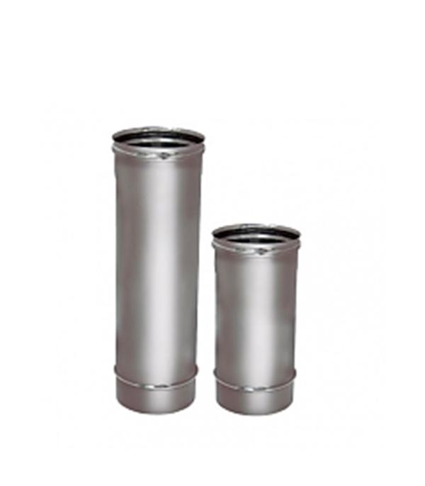 Труба Вулкан 1000 мм 150 без изоляции на расширителе зеркальная 304